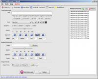 PhotoX Batch Watermark Creator 3.6.2.430 screenshot. Click to enlarge!