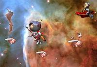 Piiigs in Spaaaace!!! 1.0 screenshot. Click to enlarge!