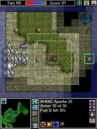 Pocket War 1.603 screenshot. Click to enlarge!