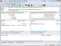 Portable FileZilla 3.25.2 screenshot. Click to enlarge!