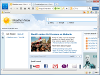 Portable Maxthon Browser 3.5.2.1000 screenshot. Click to enlarge!