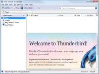 Portable Thunderbird 52.1.0 screenshot. Click to enlarge!