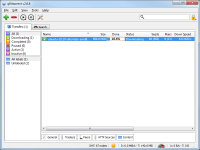 Portable qBittorrent 3.3.12 screenshot. Click to enlarge!