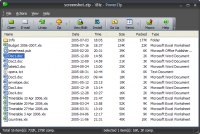 PowerZip 7.21 screenshot. Click to enlarge!
