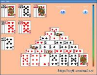 Pyramid Solitaire 1 screenshot. Click to enlarge!