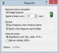Rasputin 3.22 screenshot. Click to enlarge!