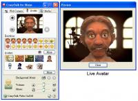 Reallusion CrazyTalk for Skype Media Edition 2.0 screenshot. Click to enlarge!