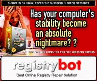 Registry Bot 2006 screenshot. Click to enlarge!