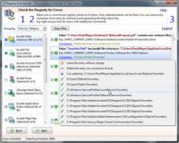 Registry First Aid 11.0.2.2455 screenshot. Click to enlarge!