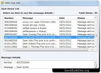 SMS Marketing Software 4.0.1.6 screenshot. Click to enlarge!
