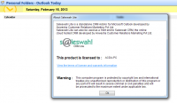 Saleswah Lite 1.0.0.4 screenshot. Click to enlarge!