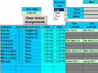 Schedule 25 Limited Availability People 1.94 screenshot. Click to enlarge!