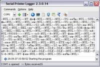 Serial Printer Logger 3.1.18.1202 screenshot. Click to enlarge!