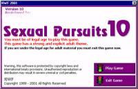 Sexual Pursuits 10.7.0 screenshot. Click to enlarge!