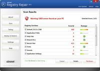 Simnet Registry Repair 2011 3.0.1.4 screenshot. Click to enlarge!