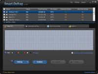 Smart Defrag Portable 5.4.0.998 screenshot. Click to enlarge!