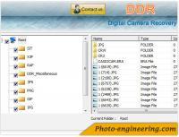 Sony Digital Camera Repair 3.0.1.5 screenshot. Click to enlarge!
