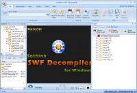 Sothink SWF Decompiler 7.4.5263 screenshot. Click to enlarge!