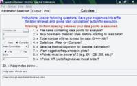SpectrumSolvers 6.12 screenshot. Click to enlarge!
