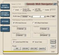 Speedy Web Navigator XP 2.1 screenshot. Click to enlarge!