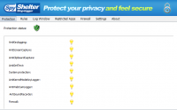 SpyShelter Firewall 10.9 screenshot. Click to enlarge!