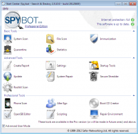Spybot Search and Destroy Detection Update 2017-06-28 screenshot. Click to enlarge!
