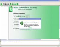 Stellar Phoenix Excel Recovery 4.1.0.0 screenshot. Click to enlarge!