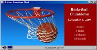 T-Minus Basketball Countdown 6.0 screenshot. Click to enlarge!