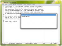 TED Notepad 5.4.2 Final screenshot. Click to enlarge!