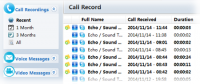 TalkHelper Free Skype Recorder 1.8.5 screenshot. Click to enlarge!