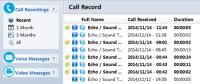 TalkHelper Free Skype Recorder 1.8.5 screenshot. Click to enlarge!