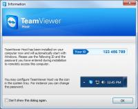 TeamViewer Host 12.0.78716 screenshot. Click to enlarge!