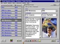 Tennis Organizer Deluxe 4.0 screenshot. Click to enlarge!