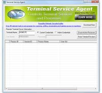 TerminalServiceAgent 1.2.9 screenshot. Click to enlarge!