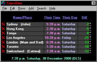TimesOwn 3.0.7 screenshot. Click to enlarge!