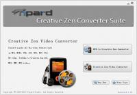 Tipard Creative Zen Converter Suite 6.1.16 screenshot. Click to enlarge!