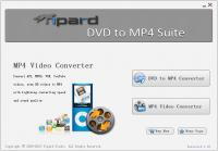 Tipard DVD to MP4 Suite 6.1.70 screenshot. Click to enlarge!