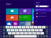 Touch-It Virtual Keyboard 5.3 screenshot. Click to enlarge!