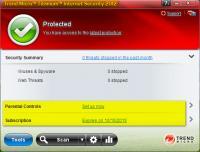 Trend Micro Titanium Internet Security 2013 6.0.1157 screenshot. Click to enlarge!