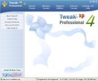 Tweak-XP Pro 4.0.11 screenshot. Click to enlarge!