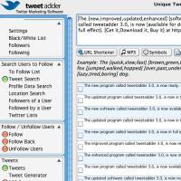 Tweet Adder 4.0.30601 screenshot. Click to enlarge!