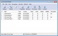 Universal Shield 4.4.1 screenshot. Click to enlarge!