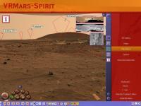 VRMars-Spirit - The Red Planet Mars 3D 2.1 screenshot. Click to enlarge!