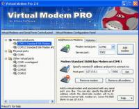 Virtual Modem PRO 3.0 screenshot. Click to enlarge!