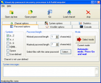 Visual Zip Password Recovery Processor 6.0 screenshot. Click to enlarge!