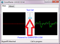 VoiceMaster 2.0.0.224 screenshot. Click to enlarge!