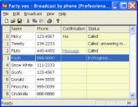 Voicent BroadcastByPhone Autodialer 8.0.7 screenshot. Click to enlarge!
