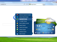 Weather Neobar for Firefox 1.0.23 screenshot. Click to enlarge!