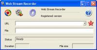 Web Stream Recorder 2015 3.0.2097 screenshot. Click to enlarge!