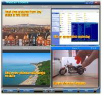 WebCam Looker 7.4 screenshot. Click to enlarge!